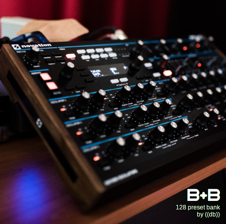 B+B for NOVATION PEAK